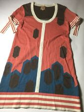 anthropologie Twinkle By Wenlan Dress Size Small S Tie Sleeves