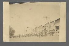 Bryant SOUTH DAKOTA RP 1908 TRAPEZE ARTIST Carnival Circus nr Watertown Clark