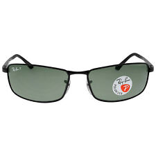 Ray Ban Green Classic G-15 Mens Polarized Sunglasses RB3498 002/9A 61-17