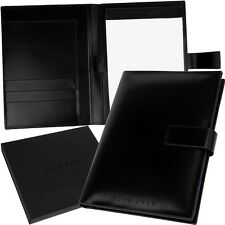 HUGO BOSS, A5 Writing Set Briefcase Portfolio Document Set Folder, NEW