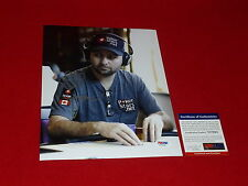 DANIEL NEGREANU  wsop poker star champion  wpt signed PSA/DNA 8X10 11