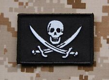 Calico Jack Patch Navy SEAL Pirate Flag Velcro Battlefield 4 Jolly Roger