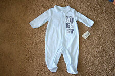 NWT GUESS Baby Embroidered My 1st Guess Long Sleeve Outfit Size 3/6M LQQK FS