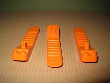 Lego New (3x) Orange Brick Separator Removal Tool (Group of 3) New Style