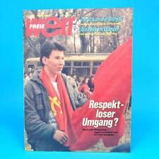 Freie Welt 22/1989 DDR-Zeitschrift Zirkus Busch Boxen Ungarn Mähren Wien Kabul