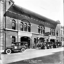 Yellow Cab Home Office Building Baltimore MD 1918  8 x 10 Photograph