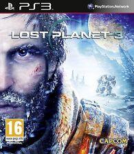 Ps3 juego Lost Planet 3 III Action juego para Playstation PS 3 nuevo
