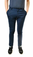 Eleven Paris Men's Stylish Casual Trousers CHAPLIN Slim Fitting Blue Size 31