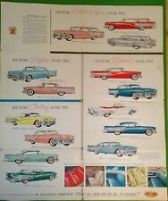 B-58 1958 Buick pamphlet