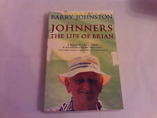 JOHNNERS The life of Brian BARRY JOHNSTON biography  a must read  P/B