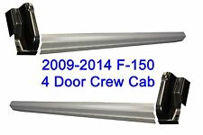 2009-2014 Ford F-150 Crew Cab 4 Door Outer Rocker Panels & Cab Corners 4PC. Set