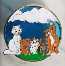 Disney The Aristocats Stained Glass Fantasy Pin LE75