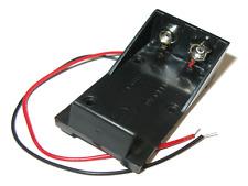 Batteriehalter 9V mit 15cm Kabel rot schwarz Batteriefach  Blockbatterie