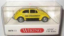 Wiking 007813 VW Käfer 1200 ADAC Straßenwacht 1:87 HO