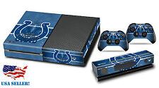 NFL INDIANAPOLIS COLTS XBOX ONE SKIN VINYL STICKER XBOX 1 CONSOLE CONTROLLER