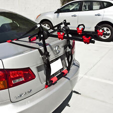 Bike Rack Trunk Mount New Universal 2 Bicycle Carrier Cars Wagon Deluxe Cycling