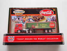 "MATCHBOX ""COKE AROUND THE WORLD"" COLLECTION SEMI TRUCK ""ENGLAND"""