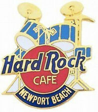 Hard Rock Cafe NEWPORT BEACH 1990s Blue DRUM Kit PIN DRUMS HRC #36765