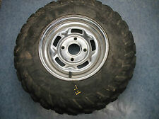 FRONT LEFT WHEEL TIRE RIM HUB 2002 CAN-AM 4X4 650 QUEST XT BOMBARDIER ROTAX
