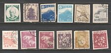 Japan 1946 New Showa Series Imperforated Used Mint and Hinged Japanese Stamp