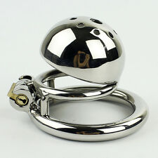 2016 NEW Male Chastity Device Stainless Steel Chastity Belt Cock Cage S522