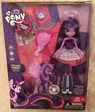 My little pony equestria girl twilight and pony with dvd