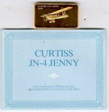 Registro de Jane en metales preciosos: Curtiss jn-4 Jenny