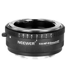 Neewer Lens Mount Adapter for Nikon AF/AF-S lens to Sony E-mount Cameras