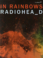 Radiohead IN RAINBOWS Piano Guitar Sheet Music Book PVG