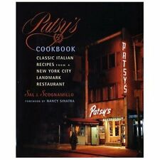 Patsy's Cookbook:Classic Italian Recipes from a New York City Landmark, HB, FUN!