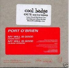 (486S) Port O'Brien, My Will Is Good - DJ CD