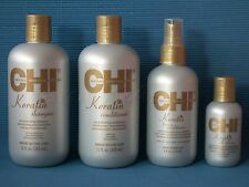 CHI KERATIN SET - Shampoo Conditioner Keratin Silk Infusion FAROUK Gesamt 946 ml