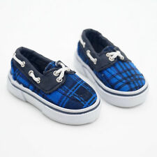 Blue Sneakers Canvas Shoes For 1/4 17in 44CM tall Boy BJD Doll MSD AOD AS G&D