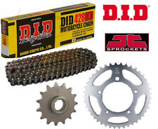 Hyosung XRX125 SM 2007-2014 Heavy Duty DID Motorcycle Chain and Sprocket Kit