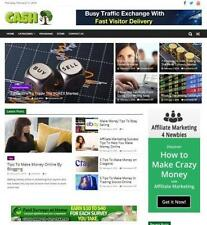 Blog Website with Articles - Ways to Make Money  Free Hosting +Installation