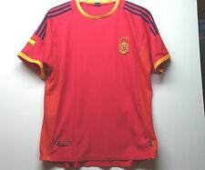 SPAIN-ESPANA-Soccer-SHIRT-Jersey-2002 WORLD CUP-XXL-FOOT BALL-International TEAM