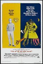 PLAY IT AGAIN SAM - R76 - orig 27x41 movie poster - WOODY ALLEN, DIANE KEATON