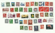 Norway postage stamps x 46, used