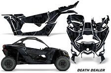 AMR Racing Can Am Maverick X3 Full Graphic Kit Wrap Sticker Parts 2016 + DEATH