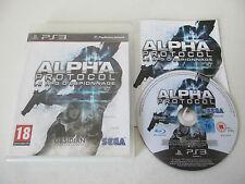 ALPHA PROTOCOL - SONY PLAYSTATION 3 - JEU PS3 COMPLET