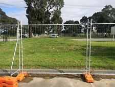 New Galvanized Temporary Fencing Panel 2.4m*2.1m Factory Direct 1300 181 183
