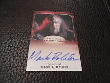 2014 Star Trek Aliens - Mark Rolston as Captain Magh Autograph Card
