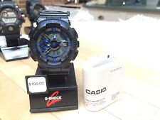 -NEW- Casio Black G-Shock Analog / Digital Watch GA110CB-1A