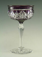 TUDOR Crystal - Coloured Cocktail Glass - Single - 4 3/4""