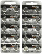 Energizer A76 LR44 1.5V Watch / Electronic Button Cell Battery (20 Pack) NEW