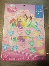 Disney Princess Bingo Birthday Party Games For Up To 8 Players