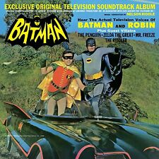 Batman ORIGINAL TV SOUNDTRACK ALBUM Nelson Riddle MONO New Sealed Vinyl LP