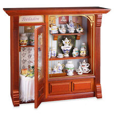 Reutter Porzellan Teeladen Neu Tea Shop Display Wandbild Puppenstube 1:12