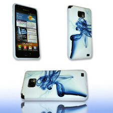 DESIGN No.8 SILIKON TPU COVER CASE SAMSUNG i9100 GALAXY S2 + DISPLAYSCHUTZFOLIE