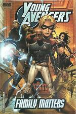YOUNG AVENGERS  VOLUME 2:FAMILY MATTERS,PREMIER-Heinberg-MARVEL COMICS 2005,NEW